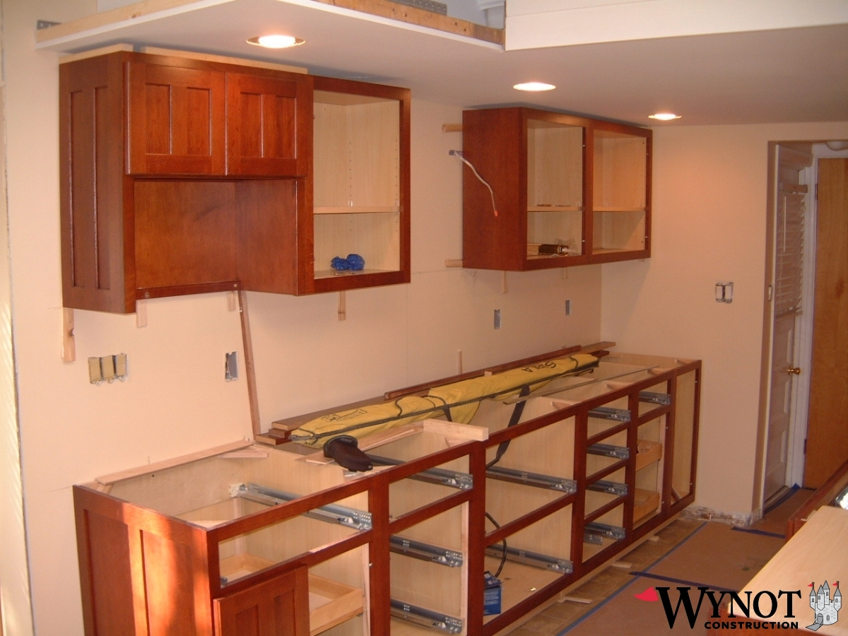 Building Kitchen Cabinets Video Kitchen And Bathroom Cabinet Installation Wynot Construction