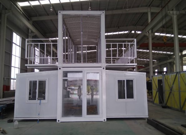 Factory Eps Manufacturer Expandable Container House Expandable Flat Pack Prefab