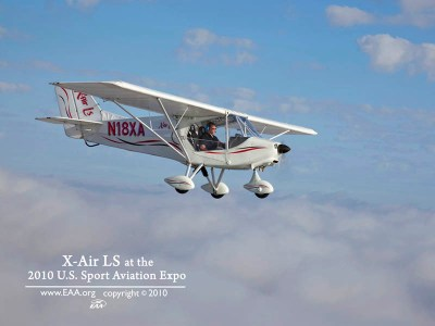 Where You Can See the X-Air - X-Air LSA