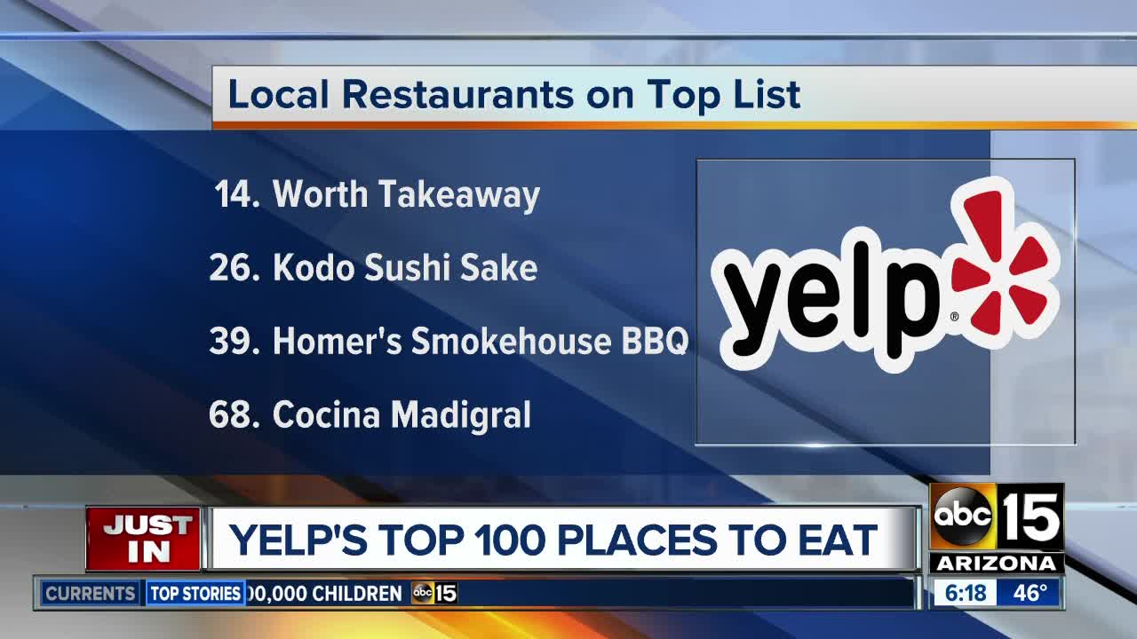 Abc Cocina Yelp Yelp S Top 100 Places To Eat In 2019 Six Arizona Restaurants Made