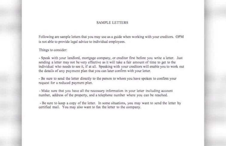 Government agency criticized for sample letter, advice sent to