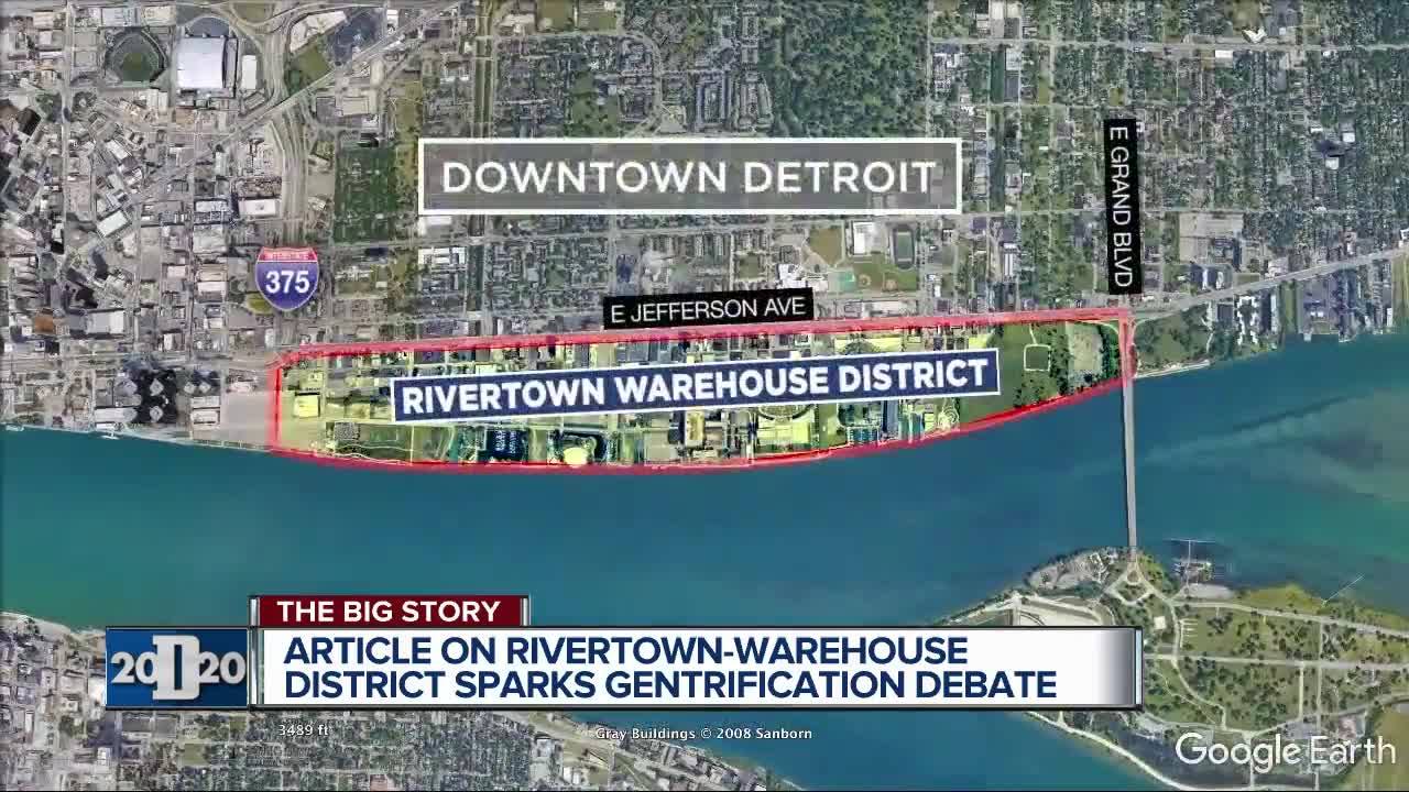Warehouse For Sale Detroit Rivertown Called Fastest Gentrifying Neighborhood But Officials