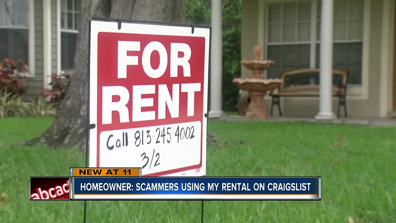 Garage For Rent On Craigslist Rental Scam Hits South Tampa Home Abc Action News Tracks Down