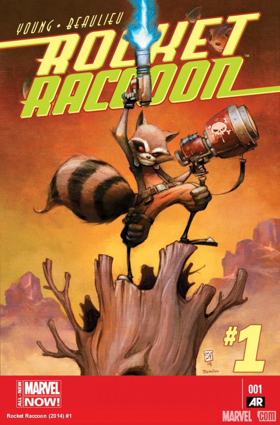 Rocket Raccoon Book Cover
