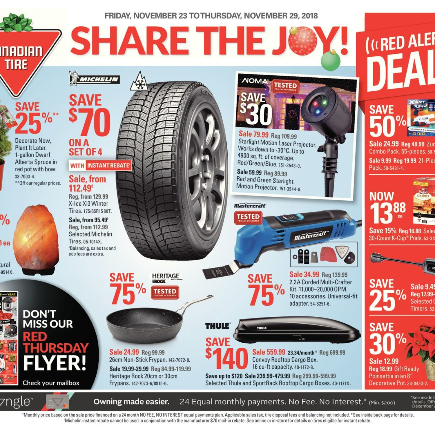 Canadian Tire Book Shelves Canadian Tire Weekly Flyer Weekly Share The Joy Nov 23 29
