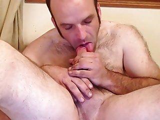 self cock sucking