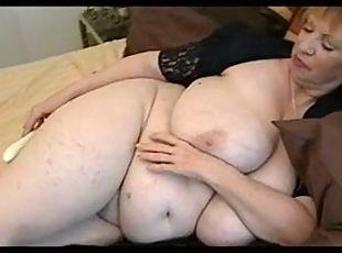 fat bbw granny sucking dick