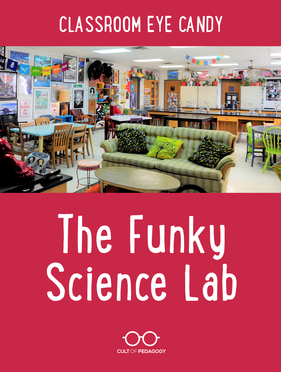 Arte Junior Science Classroom Eye Candy 3 The Funky Science Lab Cult Of Pedagogy