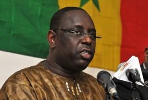 Senegalese opposition leader Macky Sall