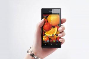 Le Huawei Ascend P1.