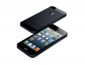 D'aluminium et de verre: l'iPhone 5 d'Apple.