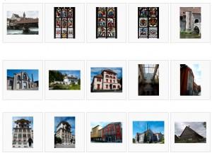 Quelques photos de monuments suisses.