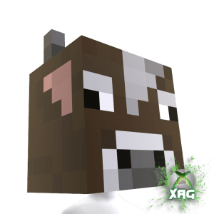 McDonald's & Dr. Pepper Minecraft Pig Head and Cow Head XBOX Avatar Helmets Text Promo FREEBIE (3/3)