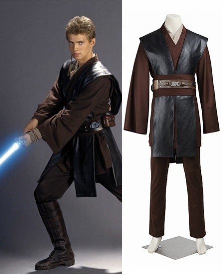 Anakin Skywalker Jedi Star Wars - Jedi Knight Anakin Skywalker Cosplay Costume