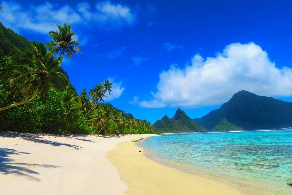 Wallpaper One Piece New World 3d A Week In Ofu Beach In American Samoa X Days In Y