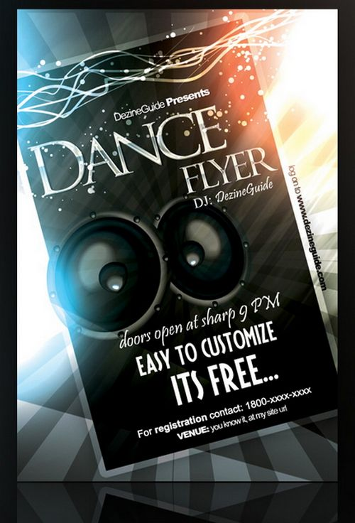 Party Poster Template Psd Image collections - Template Design Ideas - free party flyer templates for microsoft word