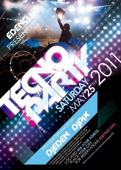 15+ Free Party And Event Flyer PSD Templates - XDesigns
