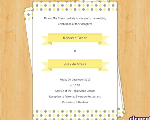 Download 8 Free Wedding Invitations Template in PSD - XDesigns - free invite template download