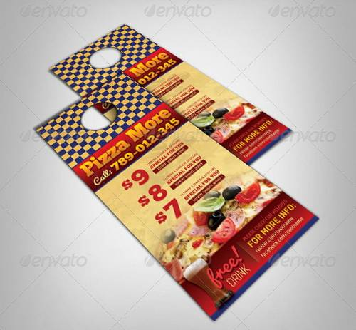 100 Awesome Flier or Flyer Templates - XDesigns - door hanger design template
