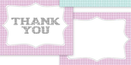 25 Beautiful Printable Thank You Card Templates - XDesigns - free thank you card template