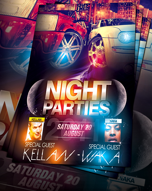 50 Best Party Flyer PSD Templates - XDesigns