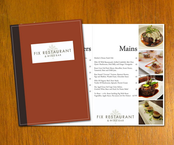 50 Free Food \ Restaurant Menu Templates - XDesigns - free restaurant menu template word