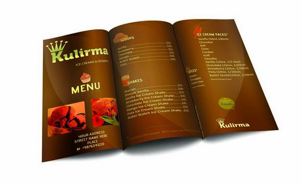 50 Free Food  Restaurant Menu Templates - XDesigns - sample restaurant brochure