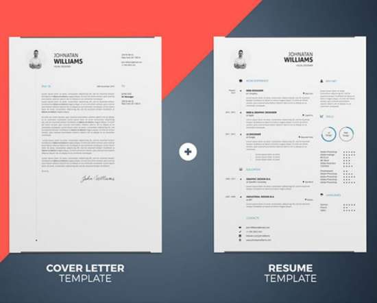 12 Professional Resume Templates in Word Format - XDesigns - resume template document