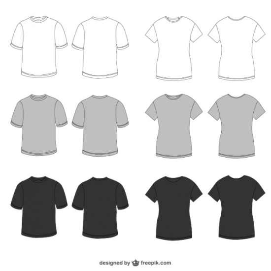 80+ Well-Designed T-Shirt Templates (PSD) - XDesigns