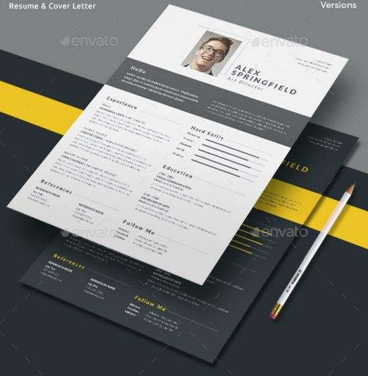 12 Professional Resume Templates in Word Format - XDesigns - Resume/cv Template