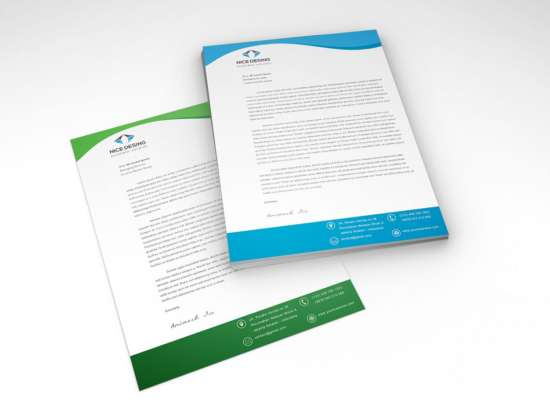 Download 15 Free Letterhead Templates - XDesigns - corporate letterhead template