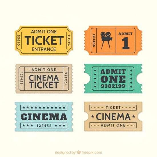 entry ticket template – Entry Ticket Template