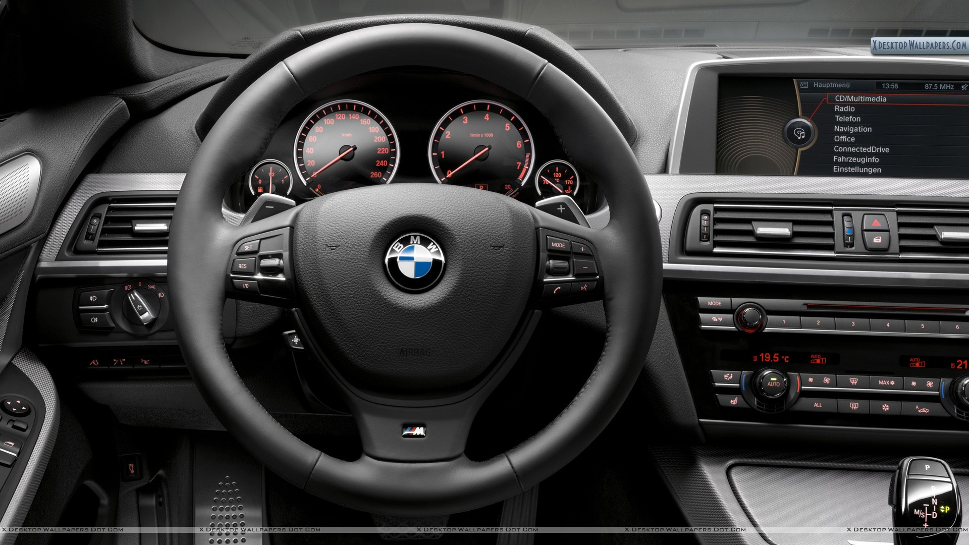 Bmw Car Pc Wallpapers Bmw F12 M Package Interior Dashboard Wallpaper