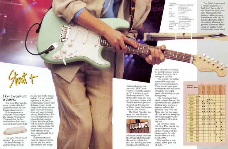 Xhefri\u0027s Guitars - Fender Stratocaster Plus Series