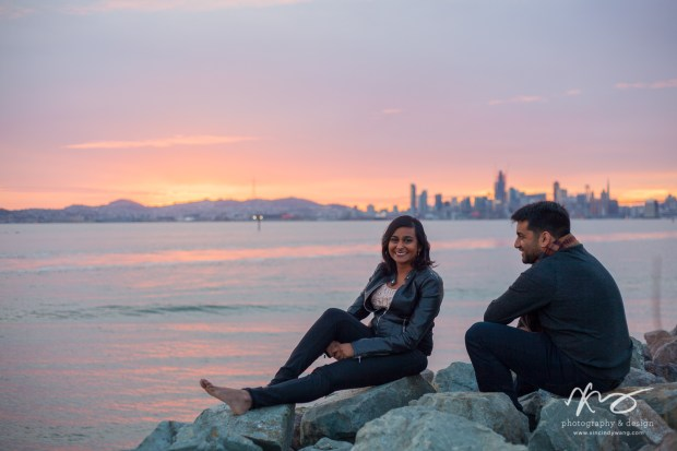 Divya Ashi Shoreline Park Oakland Port Engagement-13