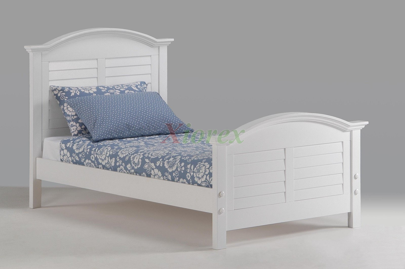 White Double Bed With Mattress White Bed For Girls Night And Day Sandpiper Bed With
