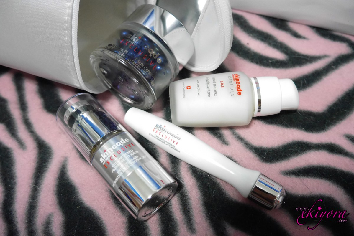 [ Event + Review ] - skincode the formula for healthy beautiful skin from Switzerland