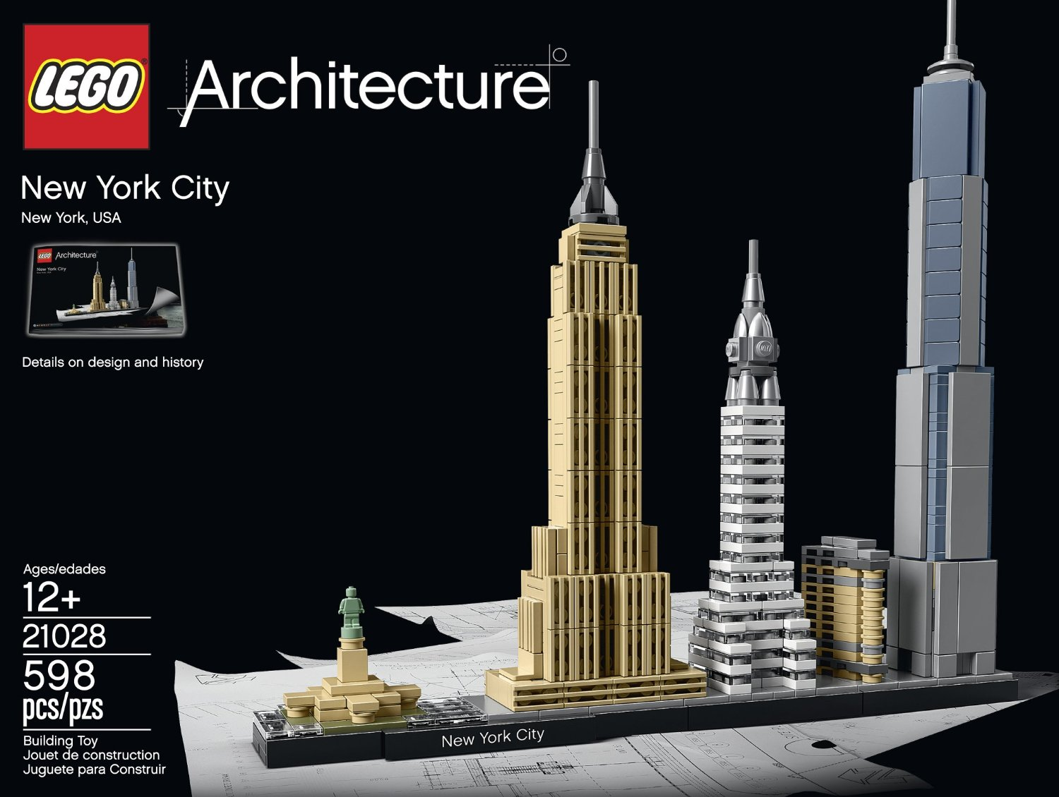 Architecture Gifts For Him Lego Architecture New York City