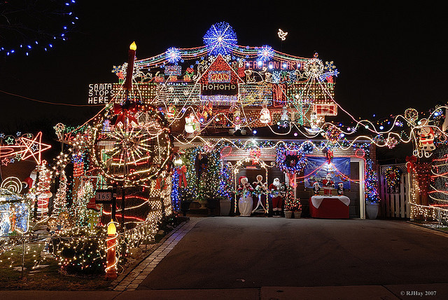 Outdoor Christmas Lights and Decoration XmasPin - outdoor christmas lights decorations