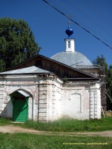 Воскресенская церковь села Судай