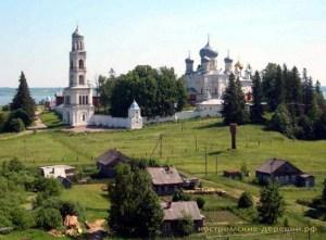 Авраамиево-Городецкий монастырь в селе Ножкино