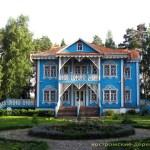 Голубой дом усадьбы Щелыково