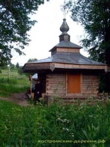 Часовня над колодцем преподобного Авраамия