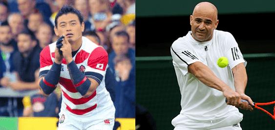 【ジャパンカップ2015】五郎丸歩(29)とアンドレ・アガシ(45)がジャパンカップのプレゼンターに!