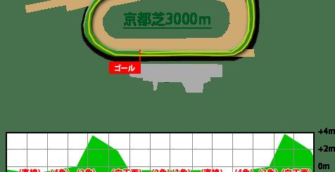 京都競馬場,芝3000m