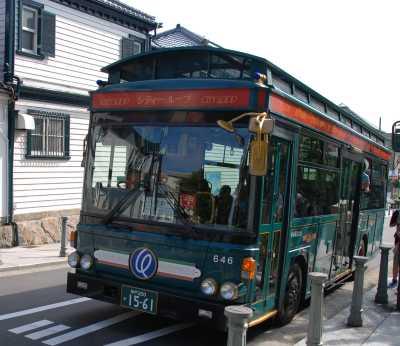 シティーループ 神戸観光地の周遊バスの所要時間・バス停