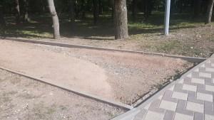 Беговые дорожка в Парке Победы