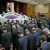 熊本地震から1年 被災地で追悼式