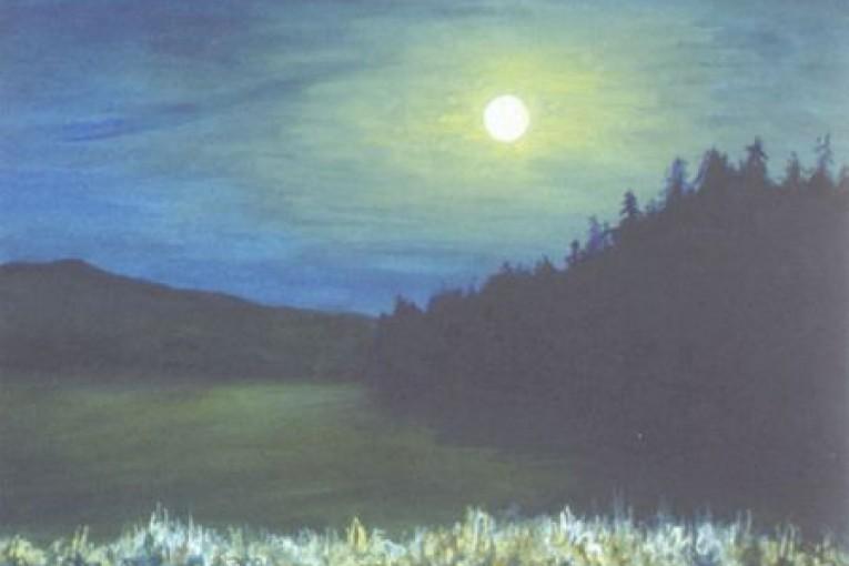 Лунные блики. 1941г.