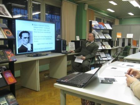 Д.Л.Голованов рассказывает о поэтическом творчестве А.Чижевского